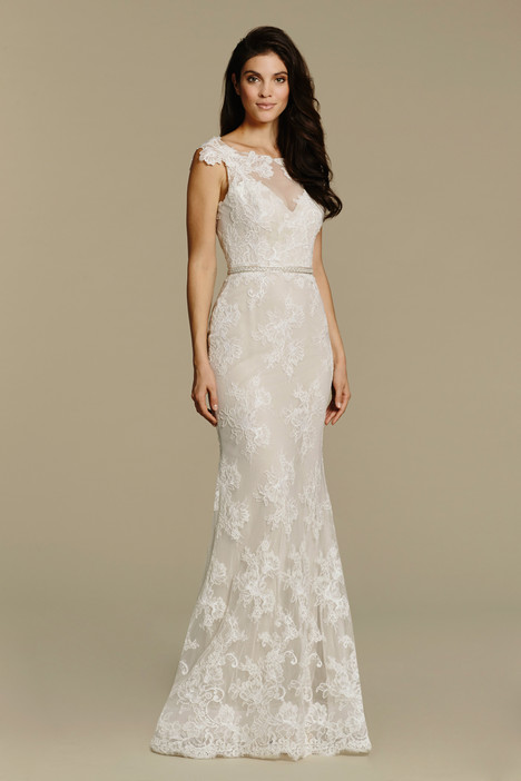 gown from the 2016 Tara Keely by Lazaro collection, as seen on Bride.Canada
