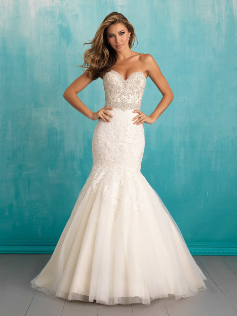 gown from the 2016 Allure Bridals collection, as seen on Bride.Canada