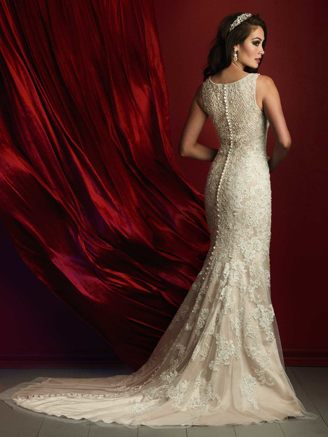 gown from the 2016 Allure Couture collection, as seen on Bride.Canada