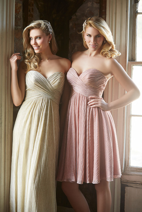 1474 + 1473 gown from the 2016 Allure Bridesmaids collection, as seen on Bride.Canada