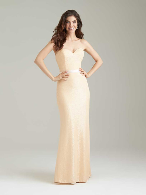 1471 gown from the 2016 Allure Bridesmaids collection, as seen on Bride.Canada