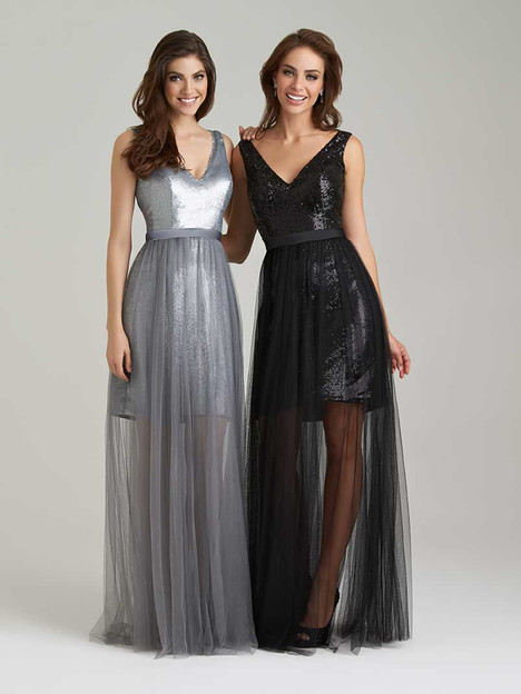 1470 gown from the 2016 Allure Bridesmaids collection, as seen on Bride.Canada