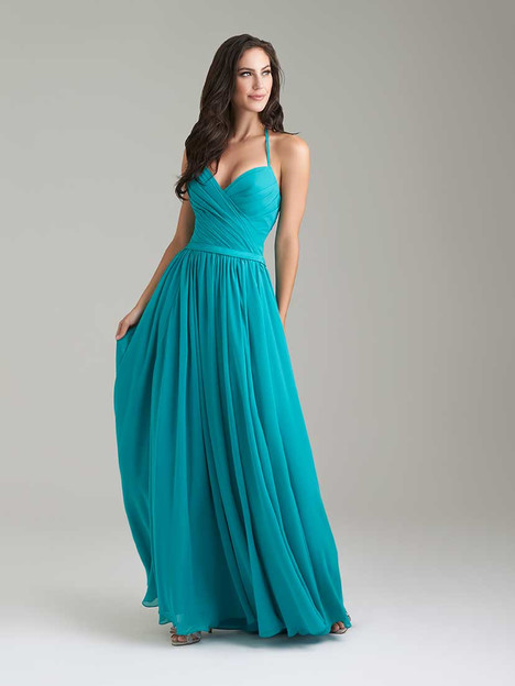 1467 gown from the 2016 Allure Bridesmaids collection, as seen on Bride.Canada
