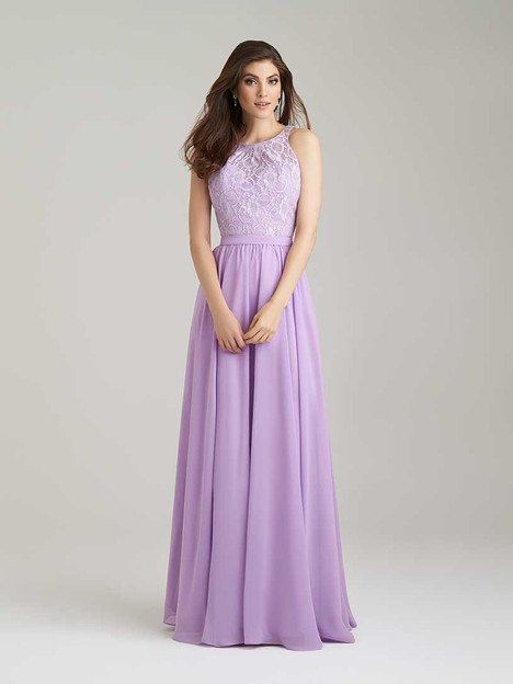 1465 gown from the 2016 Allure Bridesmaids collection, as seen on Bride.Canada