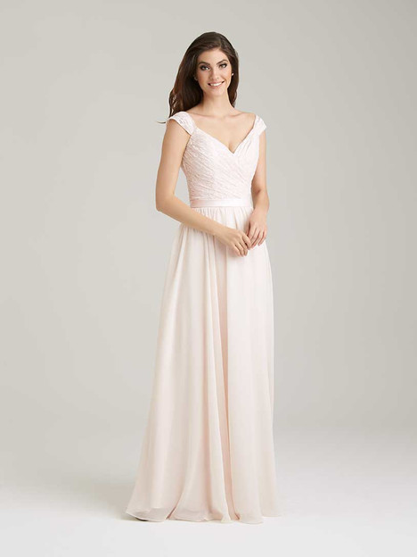 1463 gown from the 2016 Allure Bridesmaids collection, as seen on Bride.Canada