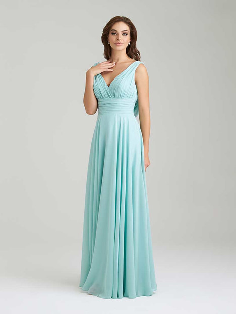 1455 gown from the 2016 Allure Bridesmaids collection, as seen on Bride.Canada