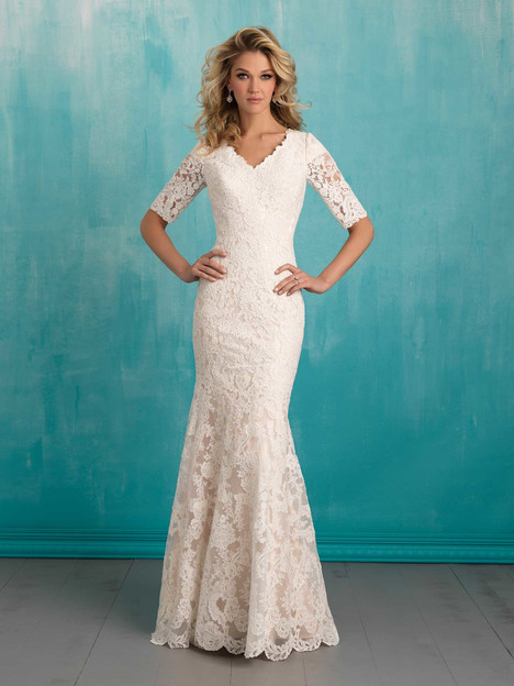 gown from the 2016 Allure Modest collection, as seen on Bride.Canada
