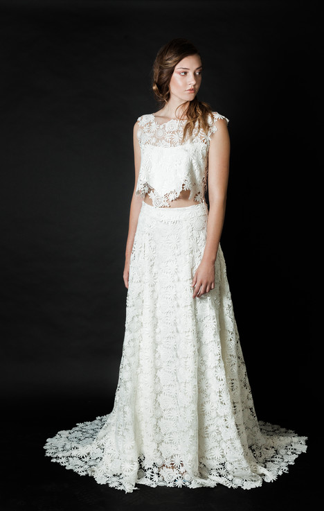 Spellbound gown from the 2016 Claire La Faye collection, as seen on Bride.Canada