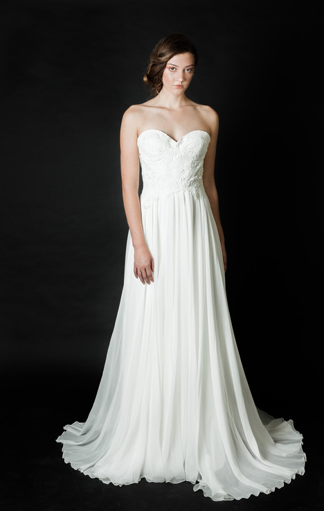 Evermore gown from the 2016 Claire La Faye collection, as seen on Bride.Canada