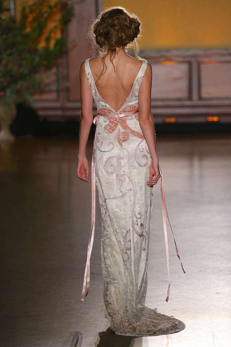 Lillian (2) gown from the 2016 Claire Pettibone: Romantique collection, as seen on Bride.Canada