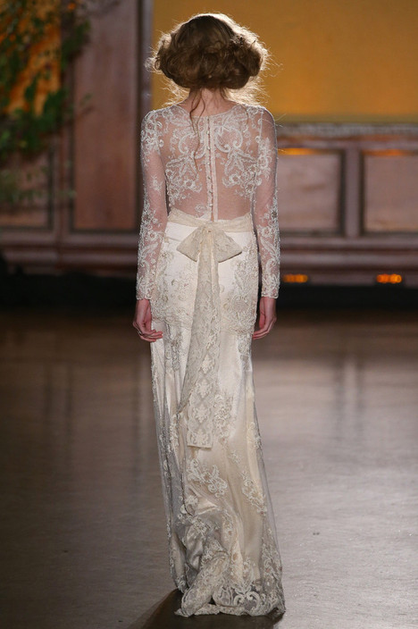 Pearle (2) gown from the 2016 Claire Pettibone: Romantique collection, as seen on Bride.Canada