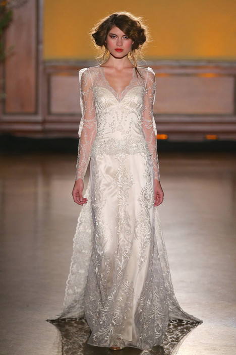 Sinclair gown from the 2016 Claire Pettibone: Romantique collection, as seen on Bride.Canada