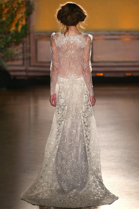 Sinclair (2) gown from the 2016 Claire Pettibone: Romantique collection, as seen on Bride.Canada
