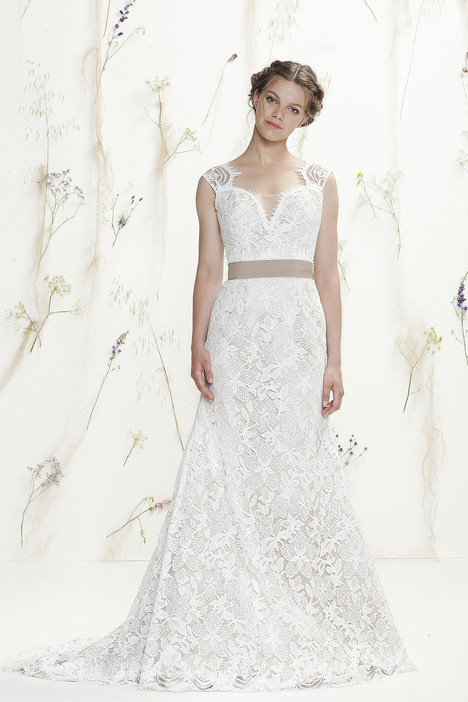 6418 gown from the 2016 Lillian West collection, as seen on Bride.Canada