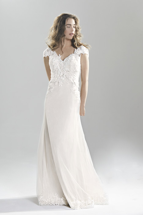 6390 gown from the 2016 Lillian West collection, as seen on Bride.Canada