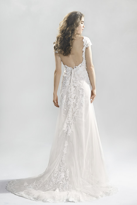 6390 (2) gown from the 2016 Lillian West collection, as seen on Bride.Canada