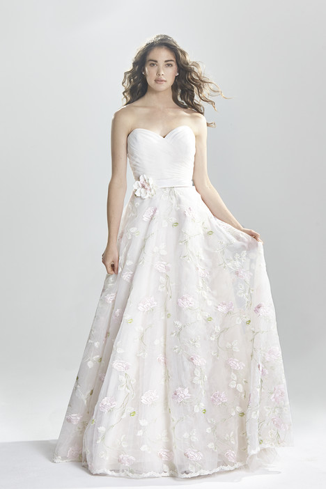6391 gown from the 2016 Lillian West collection, as seen on Bride.Canada