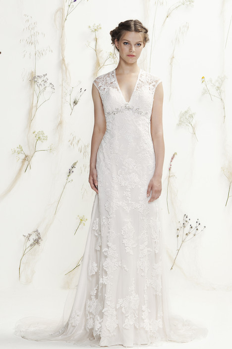 6392 gown from the 2016 Lillian West collection, as seen on Bride.Canada