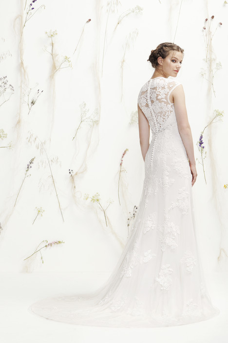 6392 (2) gown from the 2016 Lillian West collection, as seen on Bride.Canada