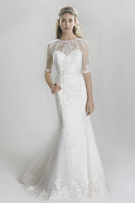 6396 gown from the 2016 Lillian West collection, as seen on Bride.Canada