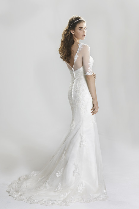 6396 (2) gown from the 2016 Lillian West collection, as seen on Bride.Canada