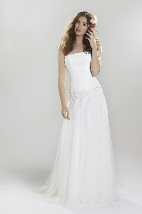 6397 gown from the 2016 Lillian West collection, as seen on Bride.Canada