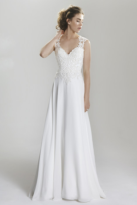 6398 gown from the 2016 Lillian West collection, as seen on Bride.Canada