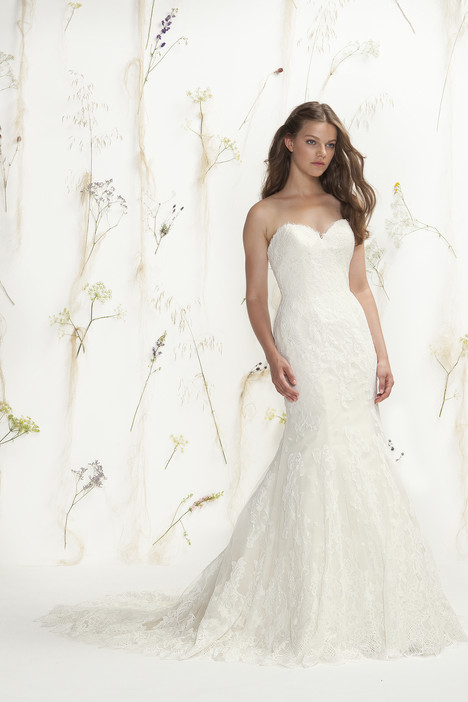 6399 gown from the 2016 Lillian West collection, as seen on Bride.Canada
