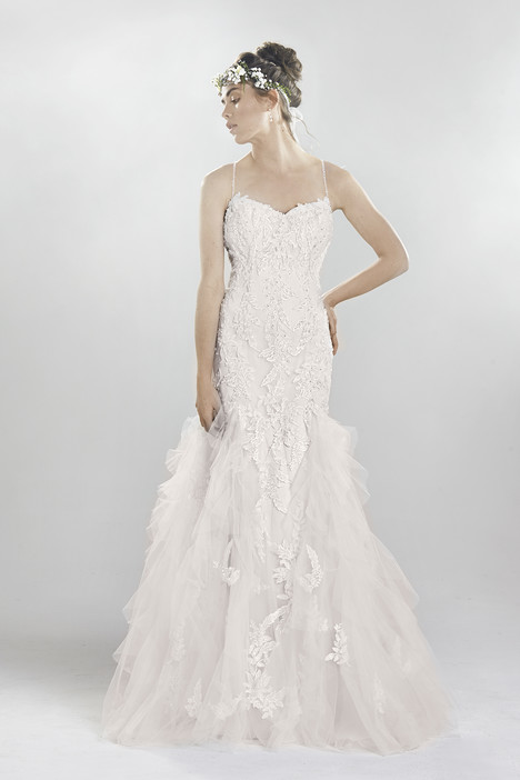 6400 gown from the 2016 Lillian West collection, as seen on Bride.Canada