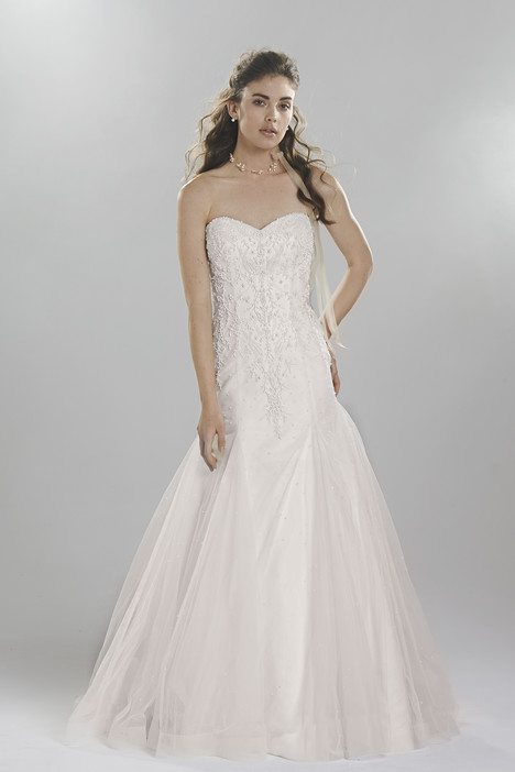6407 gown from the 2016 Lillian West collection, as seen on Bride.Canada