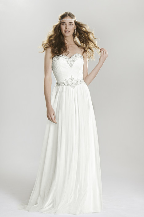 6411 gown from the 2016 Lillian West collection, as seen on Bride.Canada