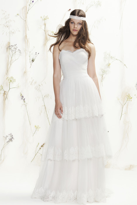 6413 gown from the 2016 Lillian West collection, as seen on Bride.Canada