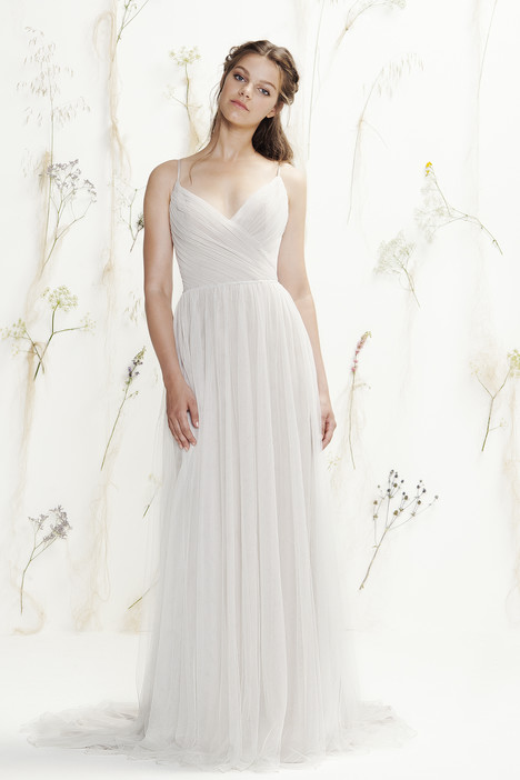 6417 gown from the 2016 Lillian West collection, as seen on Bride.Canada