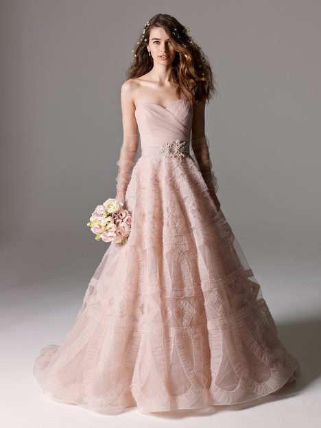 Edlin gown from the 2015 Watters Brides collection, as seen on Bride.Canada