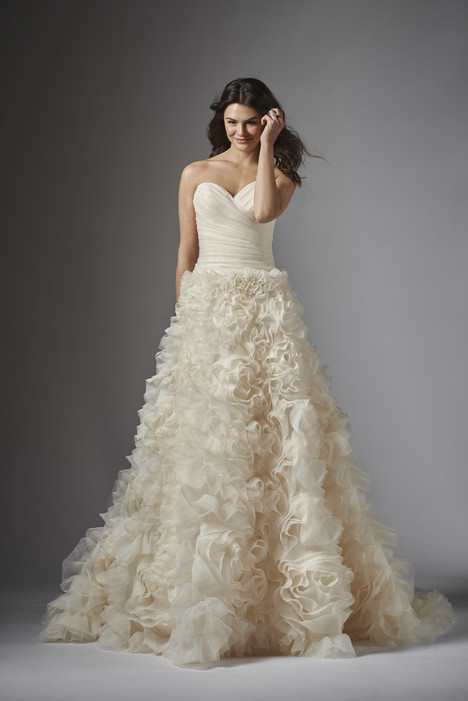 Elina gown from the 2015 Wtoo Brides collection, as seen on Bride.Canada