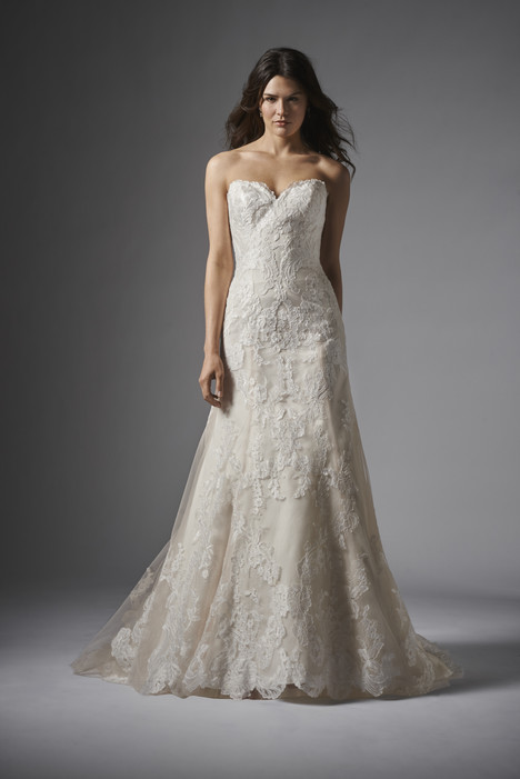 Christy gown from the 2015 Wtoo Brides collection, as seen on Bride.Canada