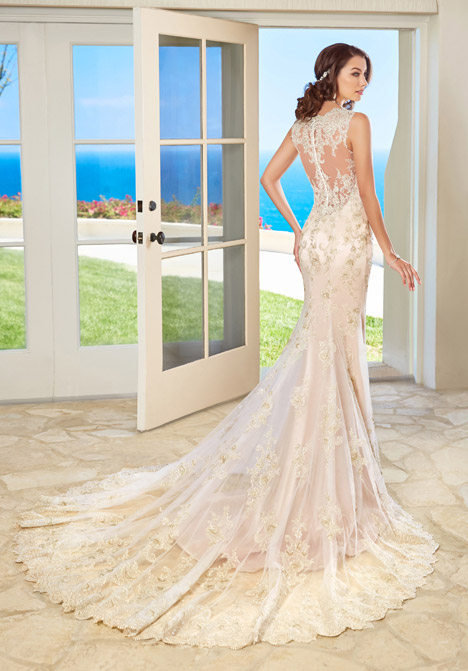 Fiona (back) gown from the 2016 KittyChen Couture collection, as seen on Bride.Canada