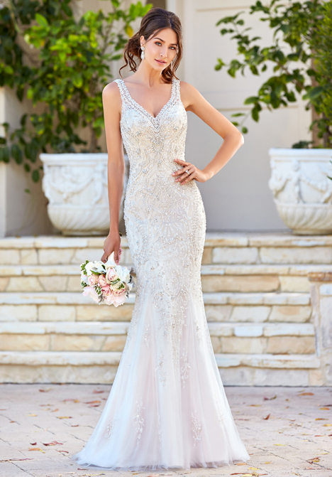 Celestia gown from the 2016 KittyChen collection, as seen on Bride.Canada