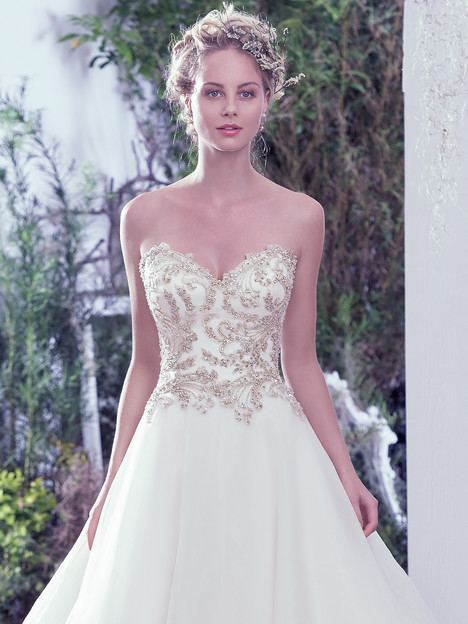 Lorenza (2) gown from the 2016 Maggie Sottero collection, as seen on Bride.Canada