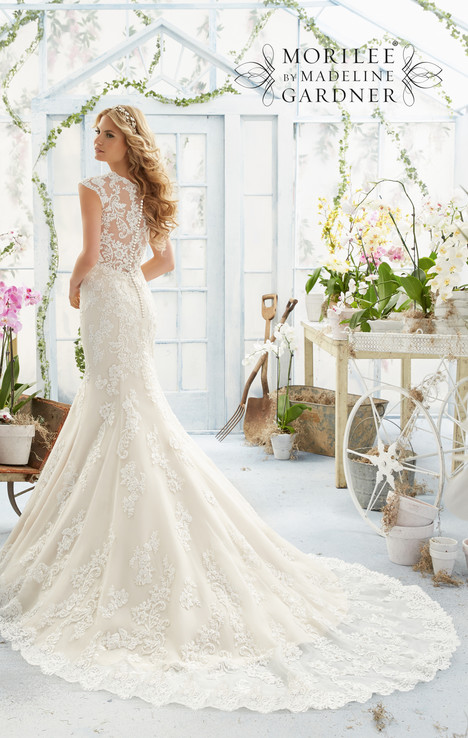 gown from the 2016 Morilee Bridal collection, as seen on Bride.Canada