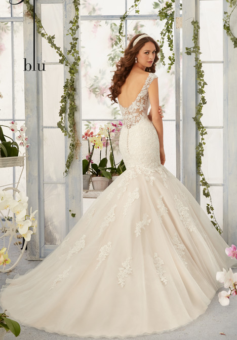 gown from the 2016 Morilee Blu collection, as seen on Bride.Canada