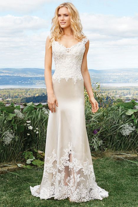 6427 gown from the 2016 Lillian West collection, as seen on Bride.Canada