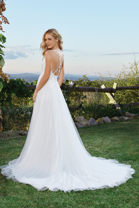 6433 (back) gown from the 2016 Lillian West collection, as seen on Bride.Canada