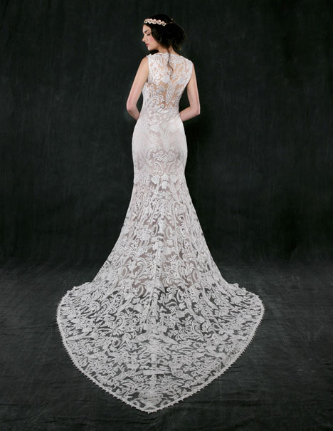 Jonquil (back) gown from the 2016 Sareh Nouri collection, as seen on Bride.Canada