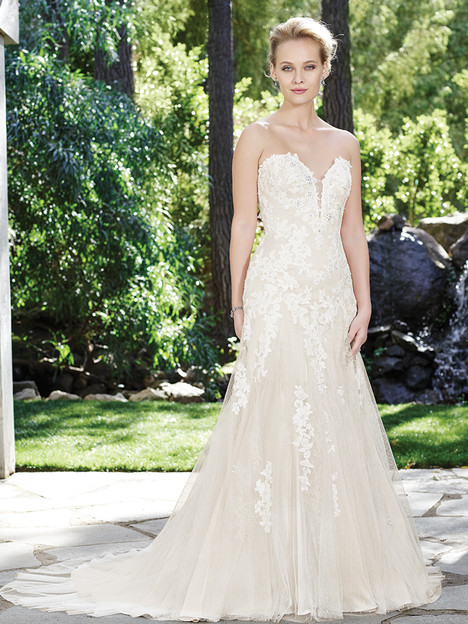 2247 Orchid gown from the 2016 Casablanca Bridal collection, as seen on Bride.Canada