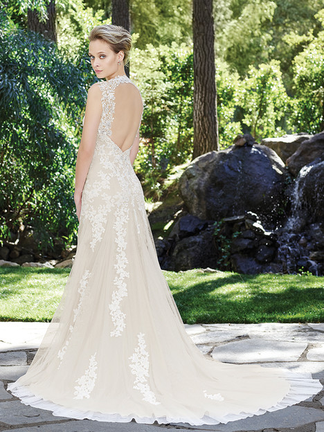 2247 Orchid (2) (back) gown from the 2016 Casablanca Bridal collection, as seen on Bride.Canada