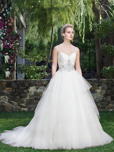 2259 Calla Lilly gown from the 2016 Casablanca Bridal collection, as seen on Bride.Canada