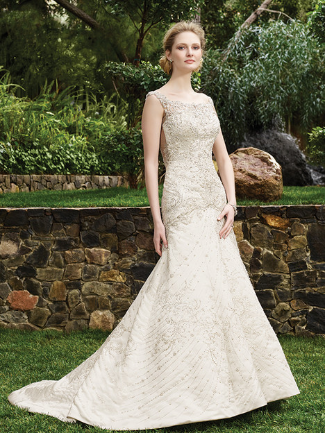 2263 Jasmine gown from the 2016 Casablanca Bridal collection, as seen on Bride.Canada