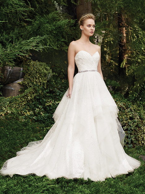 2264 Rosette gown from the 2016 Casablanca Bridal collection, as seen on Bride.Canada