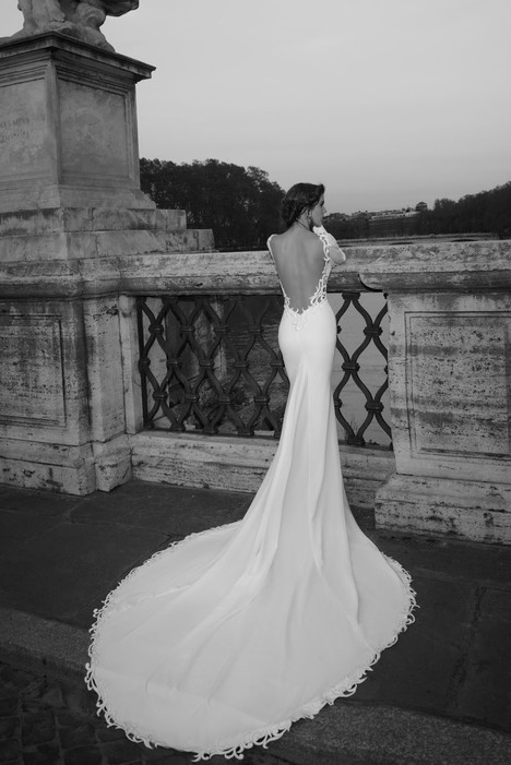 Sabina (back) gown from the 2017 Julie Vino collection, as seen on Bride.Canada